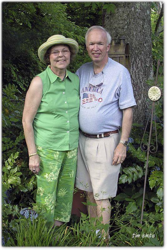 Memorial Day 2005  Tim and Pat