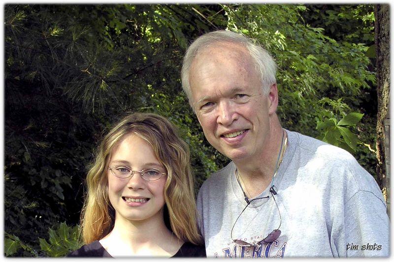 Memorial Day 2005  Tim and Jordan