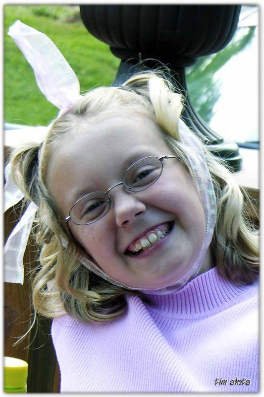 Memorial Day 2005  Jessica having fun