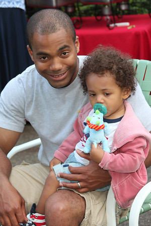 Rob and his lil man Mason