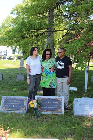 Gabrielle aka Giggy, Maria aka Missy and Allan