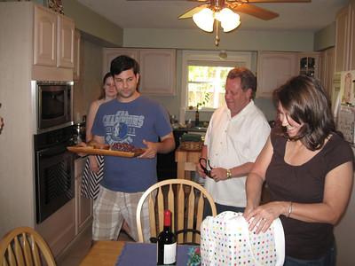 Memorial Day Weekend Dinner May 27, 2012