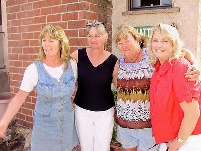 Colleen, Terrie, Terry Kramer, Cathy