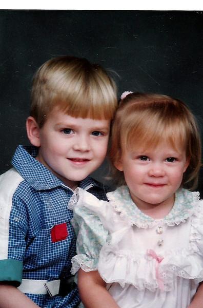 Luke and Sarah Humphries - Feb. 1990