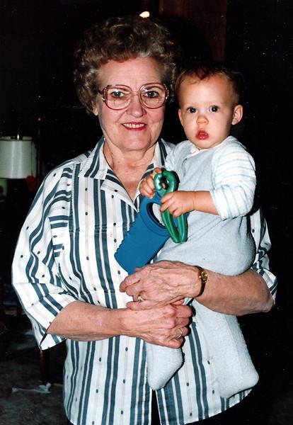 Grandma & Sarah Jane.