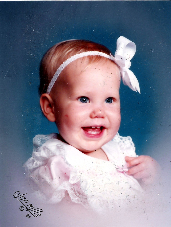 What a doll!  Katie Brooke Humphries.   May 1, 1991