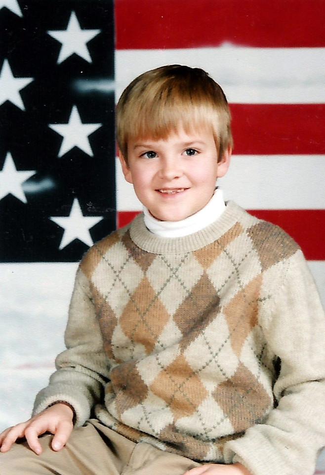 A little gentleman.  Luke Van Humphries.  2nd grade - 7 years.