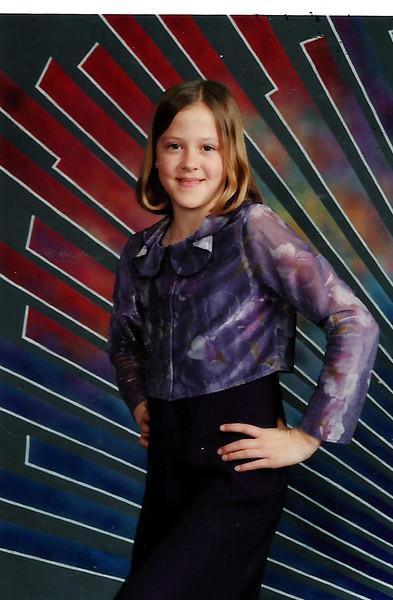 Sarah Jane Humphries - 5th grade.