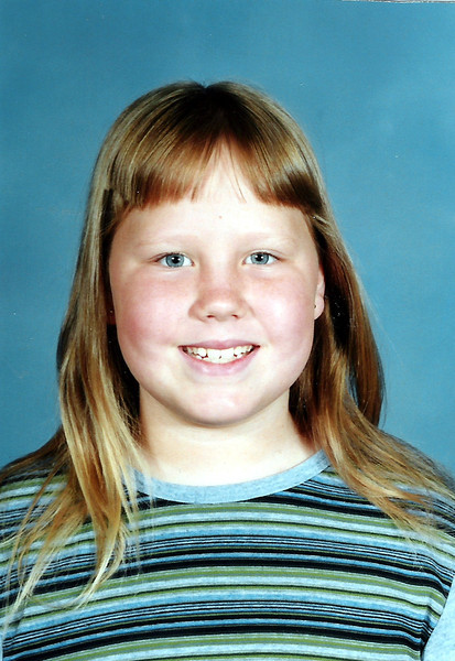 Smile!  Katie Brooke at age 9, 4th grade.