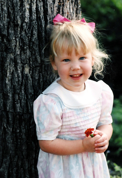 What a sweetheart!!  Katie Brooke.  March 1993