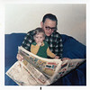 1974 Reading the paper with Gramps