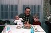 1977 Slide 13-47 Dave's fourth birthday, Eric, Ellis, Dave