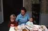 1976 Slide 12-28 Thanksgiving deserts at Nana and Gramps'