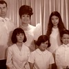 Larry, Afriquita, Patricia, Marian, Carolyn, Mike - 1969.