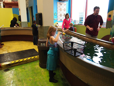 Memphis Children's Museum with Olivia and Barrett