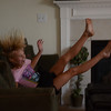 McKenna jumping from the table to the couch, it was super cute