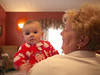 Mallory with grandma.
