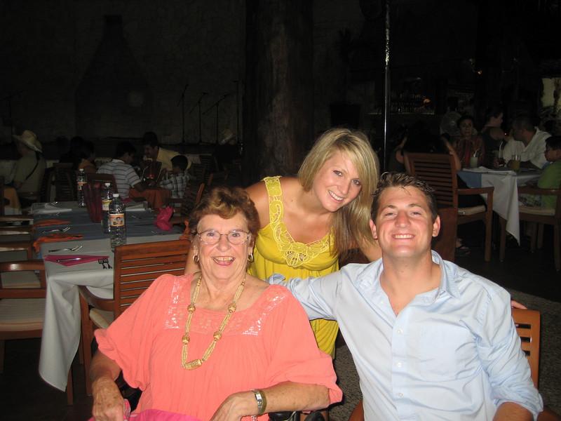 Grandma, Kelsey and Alec