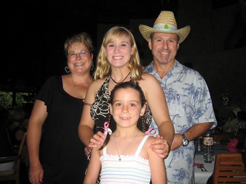Becky, Jess, Tom and Meagan