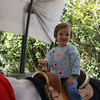 Mia's first pony ride.