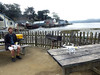 We arrived at Hog Island Oyster company a little early - time to take some aerial photos