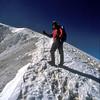 Michael on the summit ridge.