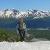Climbing on Exit Glacier with Randall Hansen and family following the Kongakut River expedition.