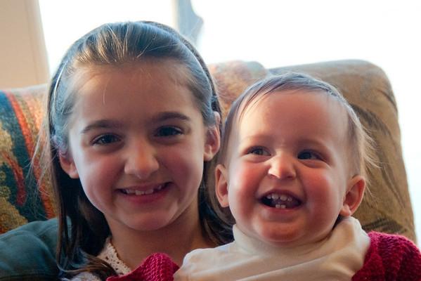 Julianna and Scarlett