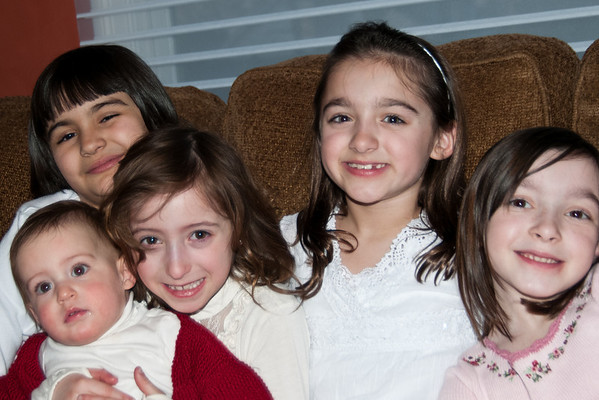 the girls.... Emilia, Scarlett, Abby, Julianna, Julia