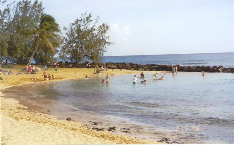 Po'ipu Beach 2-15-06