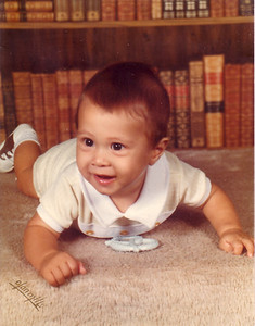 Michael June of 1977 6 months old