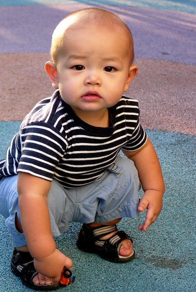 Septemberday at the playground