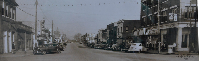 City of Hawkinsville 1956