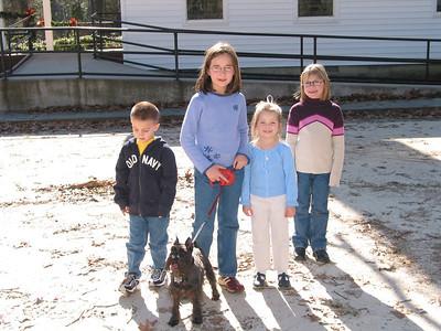 Joseph, Hayden, Makenna and Libby