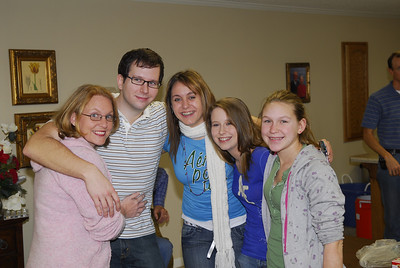 Debbie, Tommy, Kaleigh, Courtney and Libby