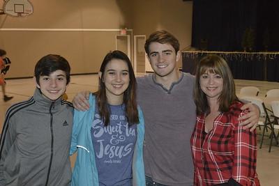 Caleb, Elaina, Rick and Danielle