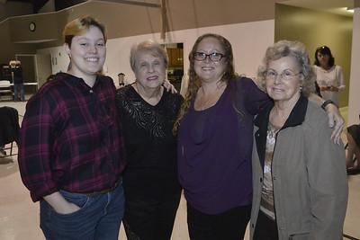 Chesnee, Rachel, Pam and Marie
