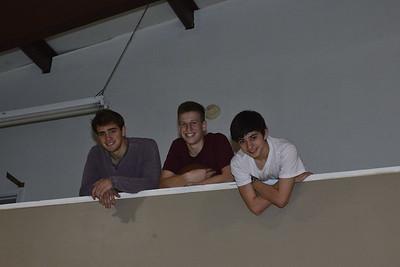 Rick, Andrew and Caleb