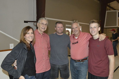 Valerie, Ron, Chris, Mike and Andrew