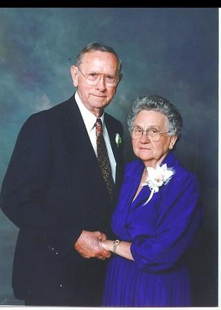 Ned M Newman Sr and Mabel Watson Newman