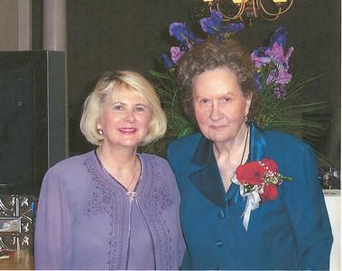 Brenda and Aunt Skeet
