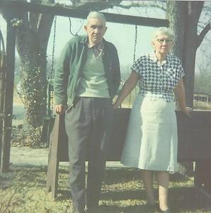Leon Watson and Omie Lee Watson