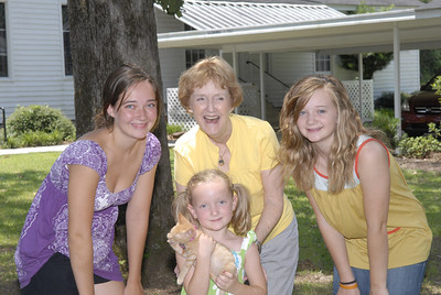 Hayden, Beth, Ansley and Amelia