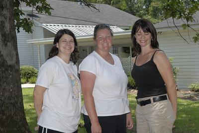 Susan, Johanna and Danielle