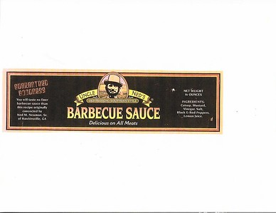 Uncle Ned's Old Fashioned Barbecue Sauce