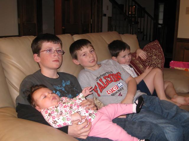 Zoe+and+boys