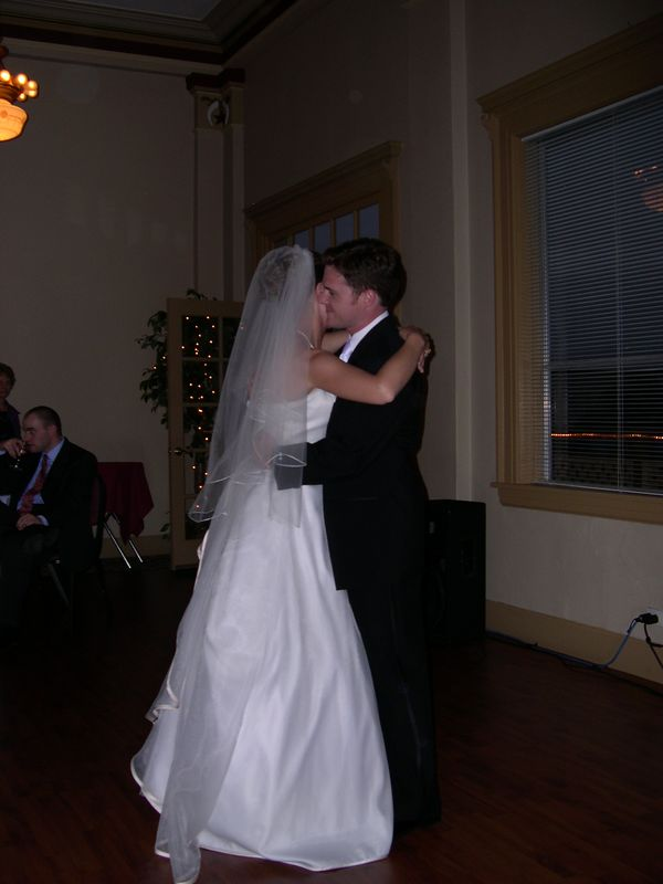 Liona and Mike--first dance