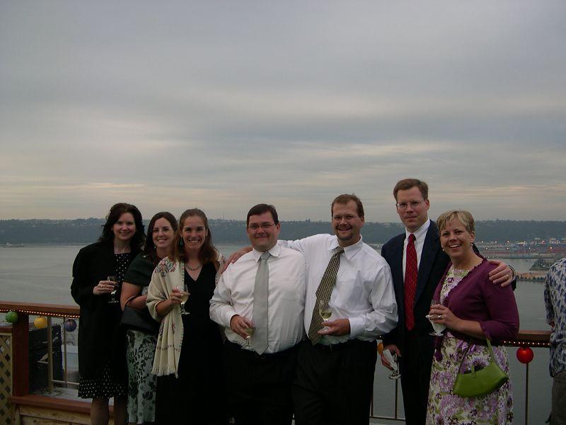Burnham Family cousins:  Mary (Karl's friend), Sara Fleming (Robert's fiancee), Anne Presecan, Karl Ackerman, Robert Ackerman, Ed Burnham, Sarah Burnham Winship