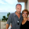 Chuck N Marge at South Beach....