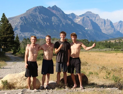 After finishing their backpacking trip in Glacier National Park in Montana, Mike and Rich decided to try climbing Mount Whitney in California